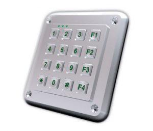 MNR Force 5 keypad
